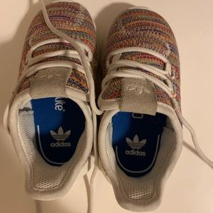 Adidas sneakers multi colored, toddler size 6